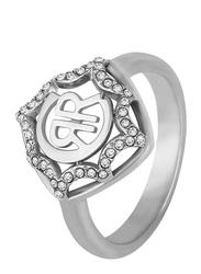 Cerruti 1881 Fashion Ring for Women, Silver, EU 56