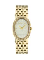 Cerruti 1881 Norcia ii Analog Metal Watch for Women, Water Resistant, Gold, C CRWM23203