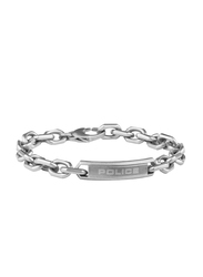 Police Nakuru Metal Ion Bracelet for Men, Silver