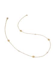 Escada Silver Charm Necklace for Women, Gold