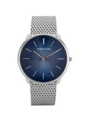 Cerruti 1881 Aldeno Metal Watch for Men, Water Resistant, Blue, C CRWA24504