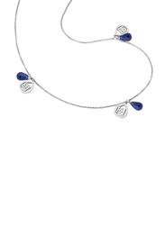 Escada Silver Charm Necklace for Women, Silver