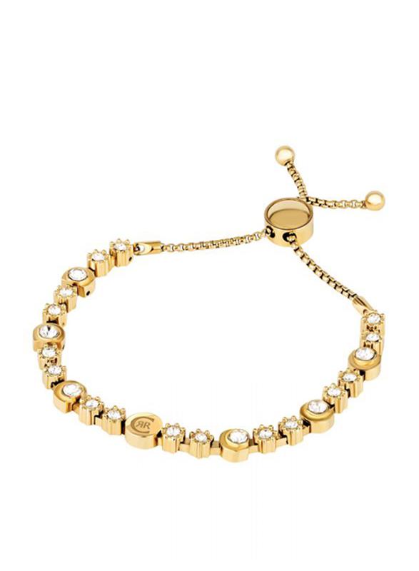 Cerruti 1881 Metal Designer Bracelet for Women, Gold