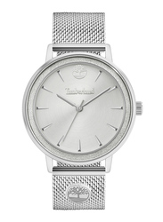 Timberland Esmond Analog Watch for Women with Stainless Steel Band, Water Resistant, T TBL15961MY, Silver