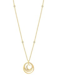 Cerruti 1881 Stainless Steel Pendant Necklace for Women, Gold