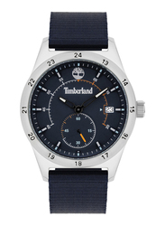 Timberland Boynton Analog Watch for Men with Nylon Band, Water Resistant, T TBL15948JYS-03, Blue