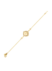 Cerruti 1881 Metal Chain Bracelet for Women, Gold