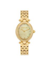 Cerruti 1881 Nemi Analog Metal Watch for Women, Water Resistant, Gold, C CRWM19905