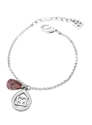 Escada Sterling Silver Chain Bracelet for Women, Rhodium