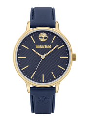 Timberland Chesley Analog Watch for Women with Silicone Band, Water Resistant, T TBL15956MY, Blue