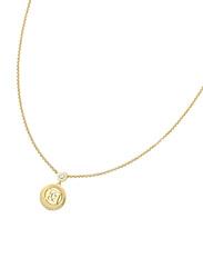 Escada Silver Pendant Necklace for Women, Gold