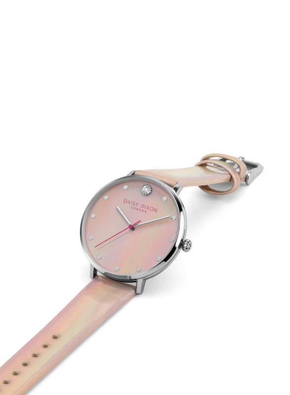 Daisy Dixon Kendall #26 Analog Watch for Women with Leather Band, Water Resistant, D DD161UP, Multicolour