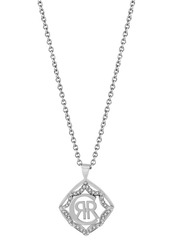 Cerruti 1881 Stainless Steel Pendant Necklace for Women, Silver