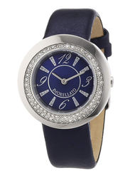 Morellato Luna Analog Watch for Women with Leather Band, Water Resistant, R0151112502, Blue