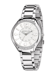 Morellato Panarea Analog Watch for Women with Stainless Steel Band, Water Resistant, R0153104503, Silver-White