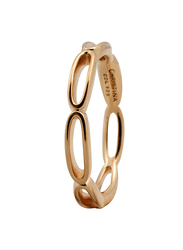 Christina Design London Gold Plated Sterling Silver Big Bubbles Shape Fashion Ring for Women, Gold, EU 59