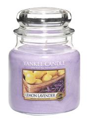 Yankee Candle Lemon Lavender Classic Jar, Medium, Purple