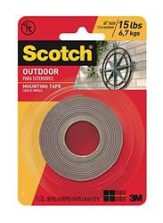 Scotch Mounting Tape, 254cm x 152 Meter, Brown