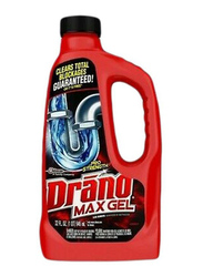 Drano Max Gel Drain Cleaner, Clear, 946ml