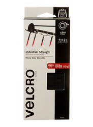 Velcro Industrial Strength Mounting Tape, Black