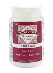 Plaid Royal Coat Decoupage Finish Glues and Seals, 236ml, Clear