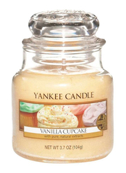 Yankee Candle Vanilla Cupcake Classic Jar, Small, Pink