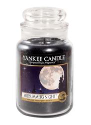Yankee Candle Midsummer's Night Classic Jar, Large, Black