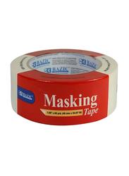 Bazic General Purpose Masking Tape, 60 Yards, 48mm x 54.87m, Clear