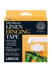 Lineco Linen Hinging Tape, White