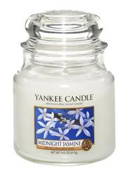 Yankee Candle Midnight Jasmine Classic Jar, Medium, Transparent