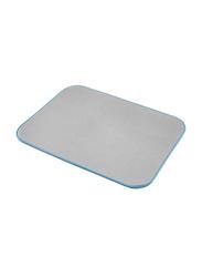 Whitmor Ironing Mat, 21.5 x 28inch, Grey/Blue