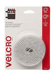 Velcro Sticky Back Tape, 152 x 2cm, White