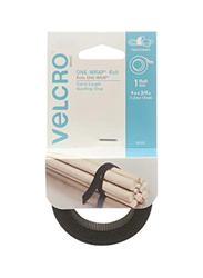 Velcro Self Gripping Multi-Purpose Hook & Loop Tape, Black