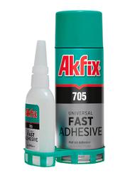 Akfix Universal Fast Adhesive, Clear, 400ml