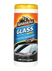 Armor All 30-Piece Streak Free Car Glass Wipes