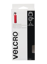 Velcro Industrial Strength Adhesive Fastener, 4ft x 2 inch, White