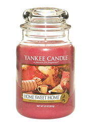 Yankee Candle Home Sweet Home Classic Jar, Large, Transparent