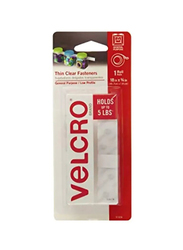 Velcro Thin Fastener Tape, Clear