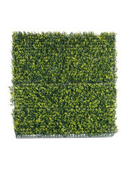 Living Space Artificial Decorative Fence, 1 x 1meter, Green