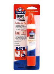 Elmer's Board Mate Dual Tip Glue Pen, 29.5ml, Clear