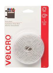 Velcro Hook and Loop Fastener Tape, 1.5 Meter x 1.9cm, White