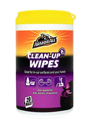 Armor All 20-Piece Clean-Up Wipes, Multicolour