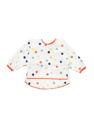 Kladdig Polka Dotted Full Sleeves Bib, Multicolour