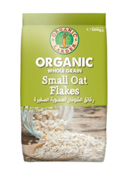 Organic Larder Whole Grain Small Oat Flakes, 500g