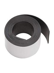 Darice 60-Piece Adhesive Back Magnet Strip Roll, 1 inch, Black