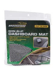 Autoplus Brookstone Non-Slip Dashboard Mat, 22 x 20cm, Multicolour