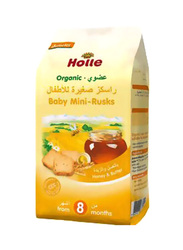 Holle Organic Honey and Butter Baby Mini-Rusks, 100g
