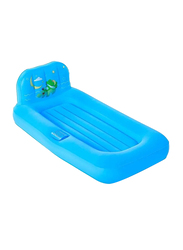 Bestway Fisher Price 1-Person Dream Glimmers Kids Air Bed, Blue