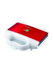 Moulinex Sandwich Maker, 700W, Sm1568, White/Red