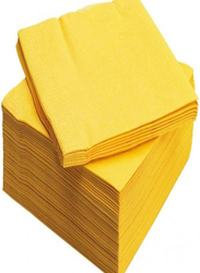 Disposable Napkin, 50 Pieces, Yellow